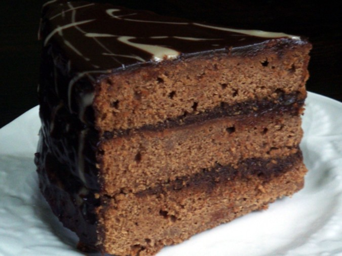 Chocolate cake photo 1