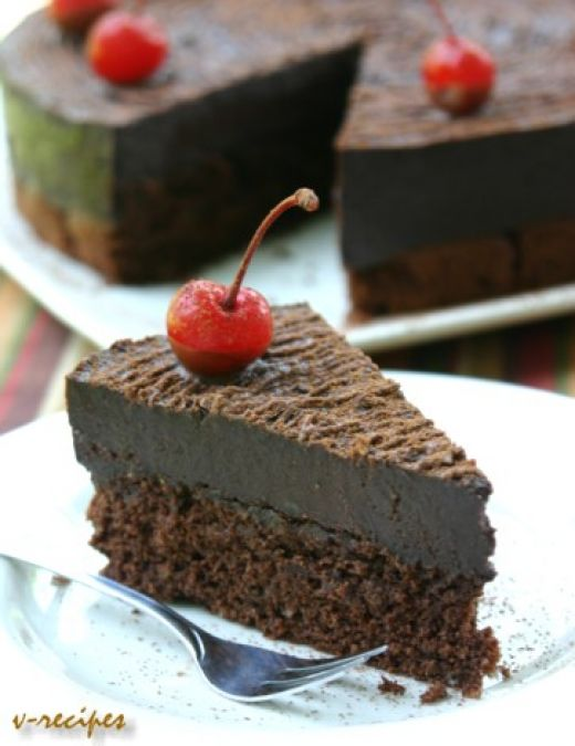 Chocolate cake photo 2