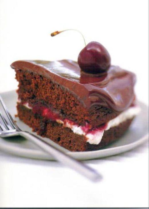 Chocolate cake photo 3