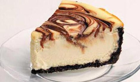 marble cheesecake recipe. How to make Chocolate marble cheesecake ...