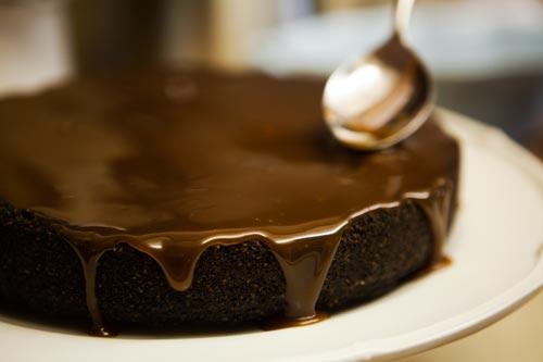 Chocolate torte photo 1