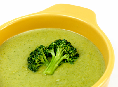 Cream of broccoli soup photo 1