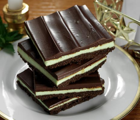 Creme de menthe bars photo 2
