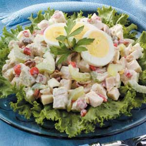 Crunchy chicken salad photo 3