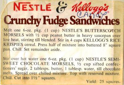 Crunchy fudge sandwiches photo 2