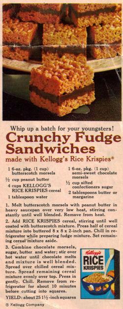 Crunchy fudge sandwiches photo 1