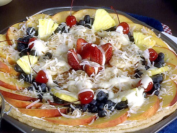 Fresh fruit pizza photo 1