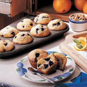 how to make blueberry muffins with frozen blueberries