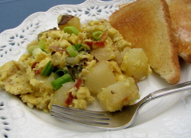 German Farmer's Breakfast Recipe — Dishmaps