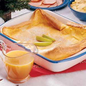 German pancake photo 1