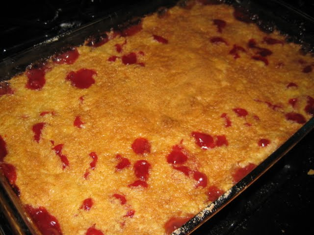Mom's cherry cake photo 1