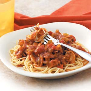 Mom's spaghetti sauce photo 1
