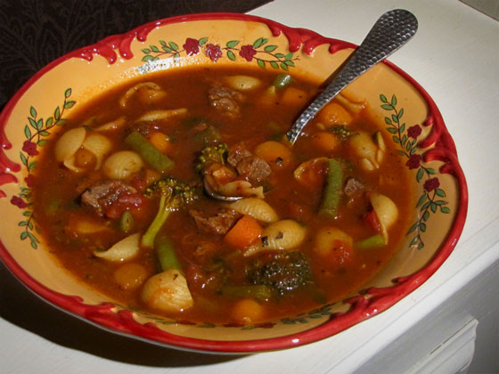 Mom's vegetable soup photo 1