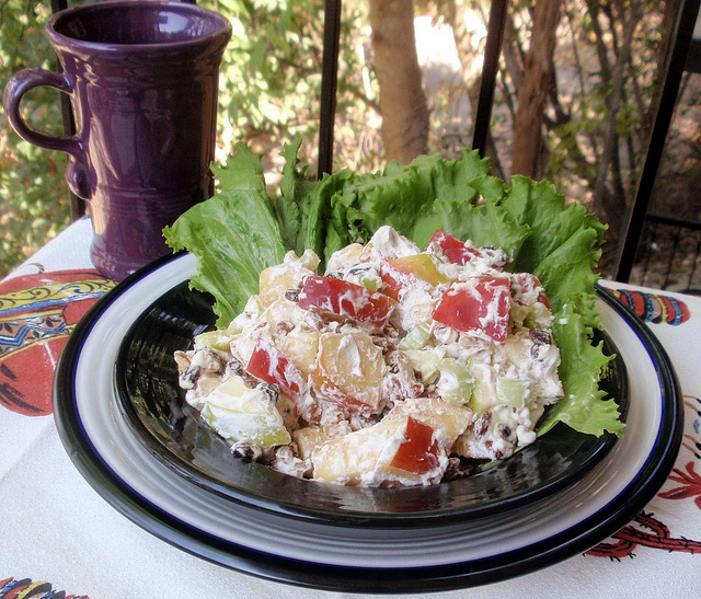 Mom's waldorf salad photo 3