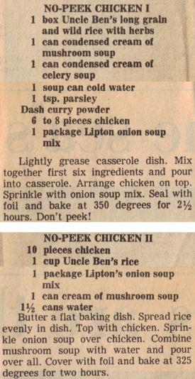 No peek chicken photo 1