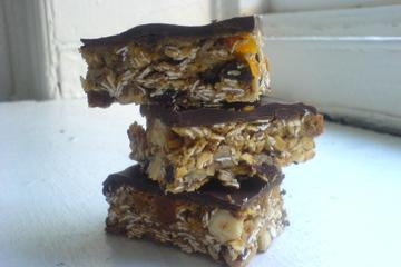 Raisin energy bars photo 1