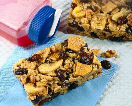 Raisin energy bars photo 2