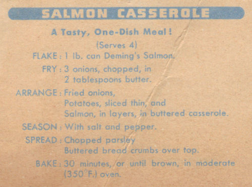Salmon casserole photo 2