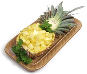 Scalloped pineapple photo 3
