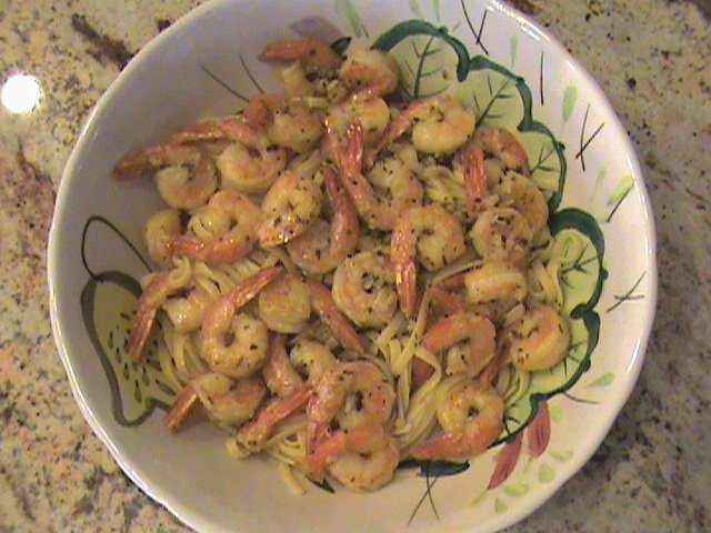 Shrimp scampi photo 2