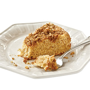 Sour cream coffee cake photo 3