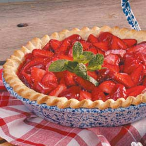 Strawberry pie photo 1
