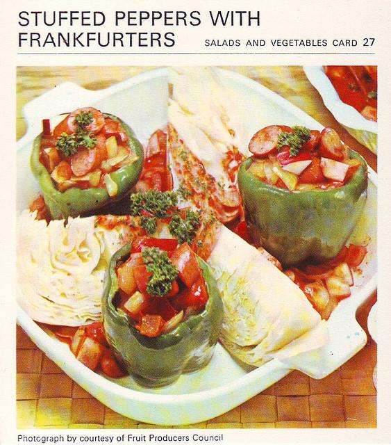 Stuffed frankfurters photo 1