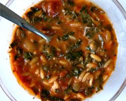 Tomato florentine soup photo 1