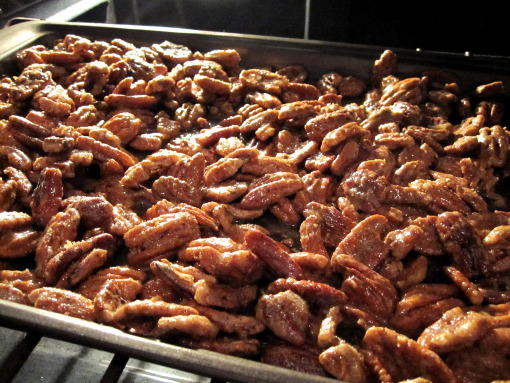 Candied pecans photo 1