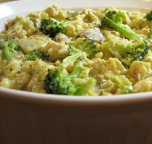 What is a recipe for broccoli casserole?