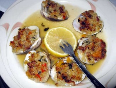 how to cook clams casino