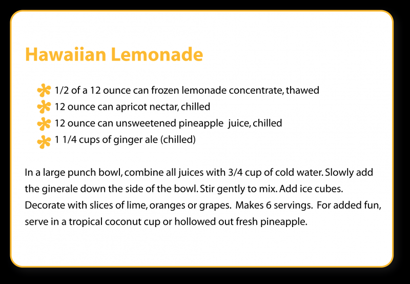 Hawaiian lemonade photo 1