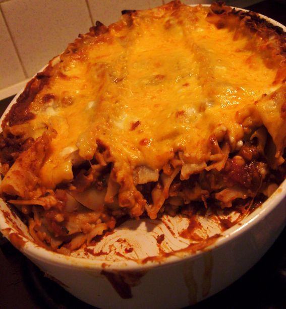 Mexican lasagna photo 2