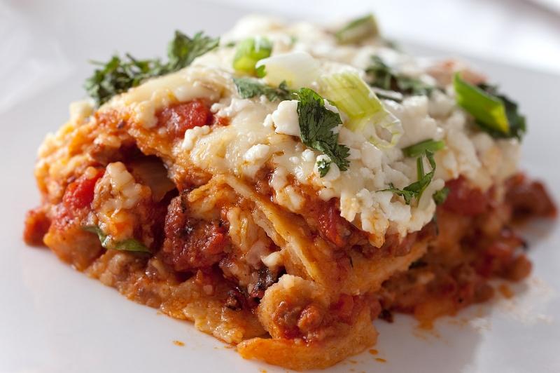 Mexican lasagna photo 1