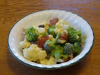 Broccoli-Cauliflower Salad