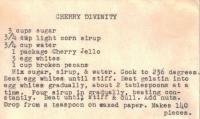 Cherry Divinity