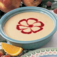 Cold Peach Soup