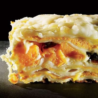 Golden turkey lasagna