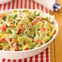 Layered Garden Pasta Salad