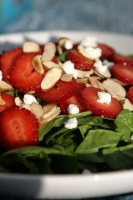 Strawberry Nut Salad