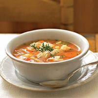 Wine soup