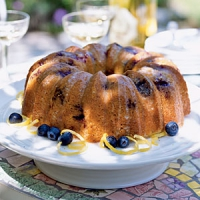 Blueberry Poppy Seed Brunch Cake
