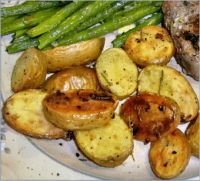 Herbed Oven Potatoes