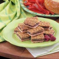 Raspberry Walnut Shortbread