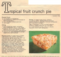 Tropical Cream Pie