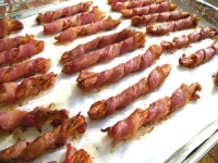 Bacon Wrapped Breadsticks