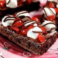 Black Forest Brownie Torte