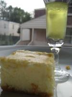 Cheesecake squares