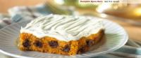 Pumpkin Spice Bars