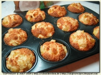 Quick Coconut Muffins